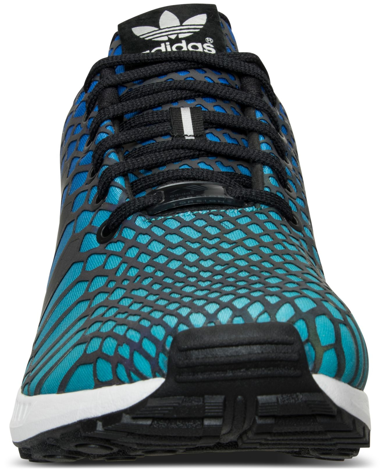 1b437a98d Lyst - adidas Men s Zx Flux Xeno Casual Sneakers From Finish Line in Green  for Men