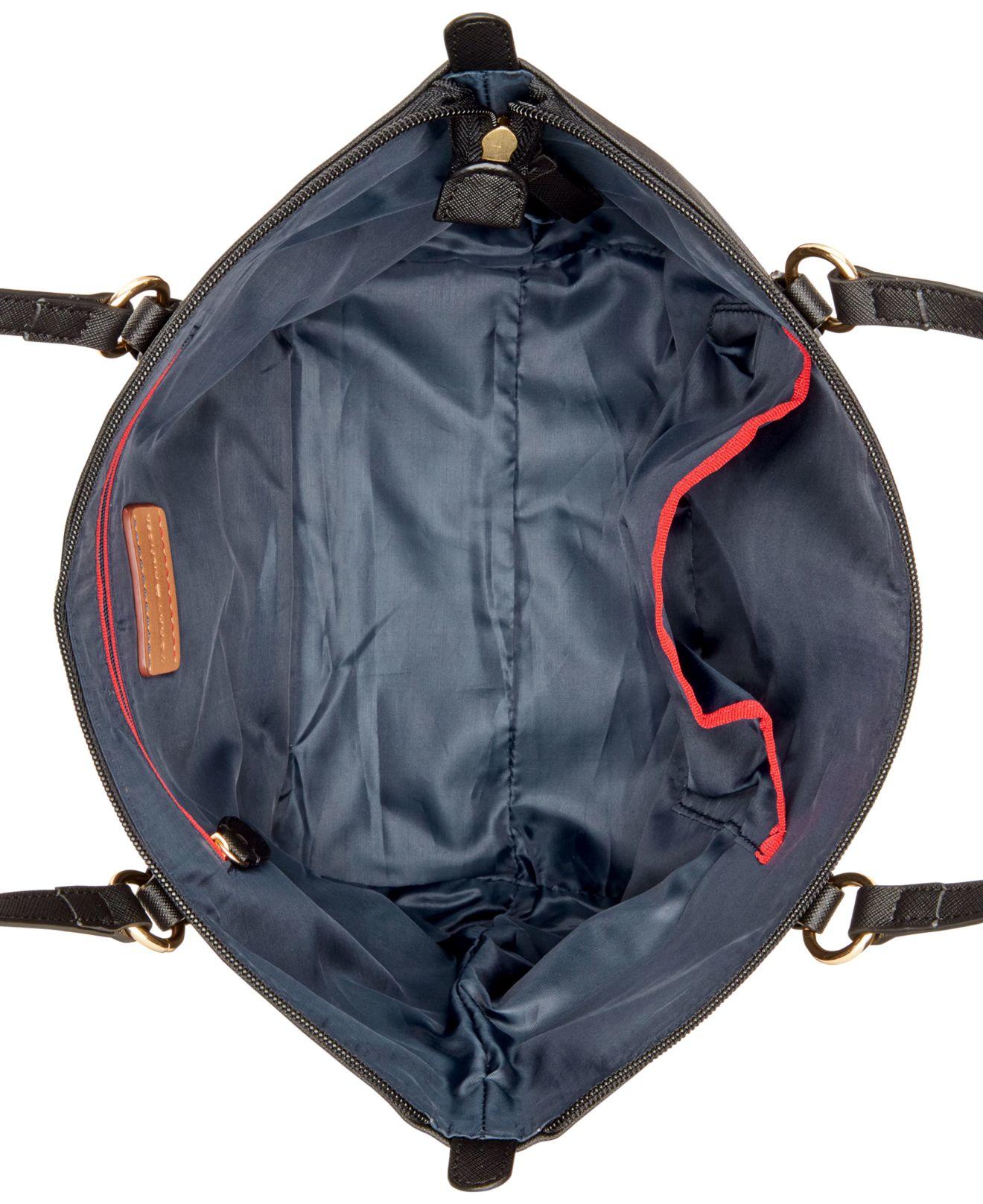 1fb638c50 Tommy Hilfiger Nylon Shopper in Black - Lyst