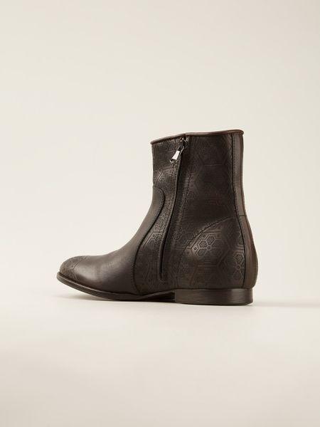 Mens Black And Gold Boots Men Diesel Black Gold