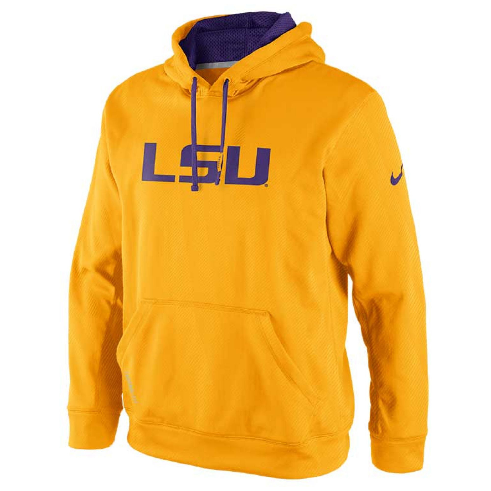 Lyst - Nike Mens Lsu Tigers Thermafit Hoodie Sweatshirt in Yellow ... 4dba313b76b1