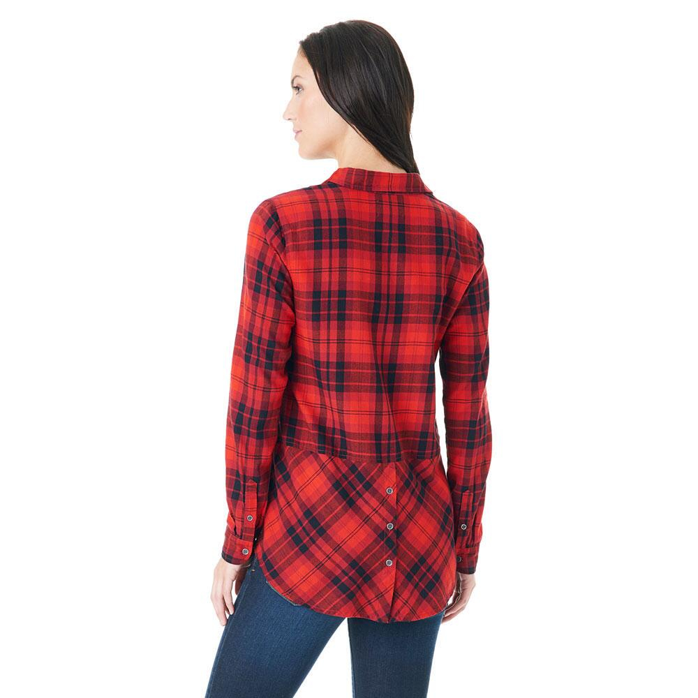 Lyst G H Bass Co Holly Plaid Shirt In Red