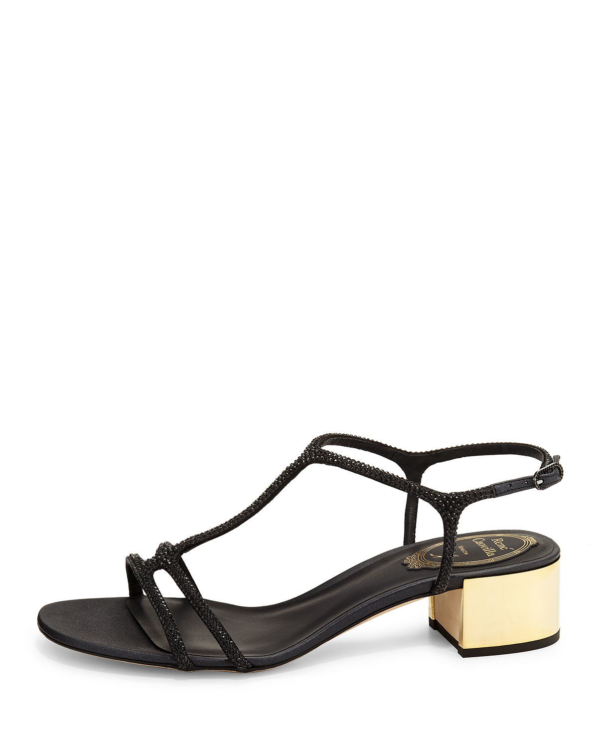 discount really René Caovilla Rene Caovilla Embossed Embellished Sandals view cheap price get authentic for sale buy cheap fashion Style NsH5Ac