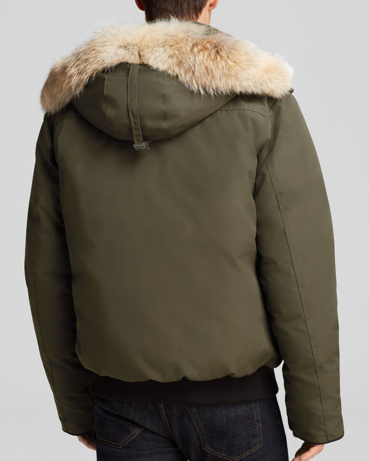 Canada Goose' Langford Parka with Fur Hood - Military Green