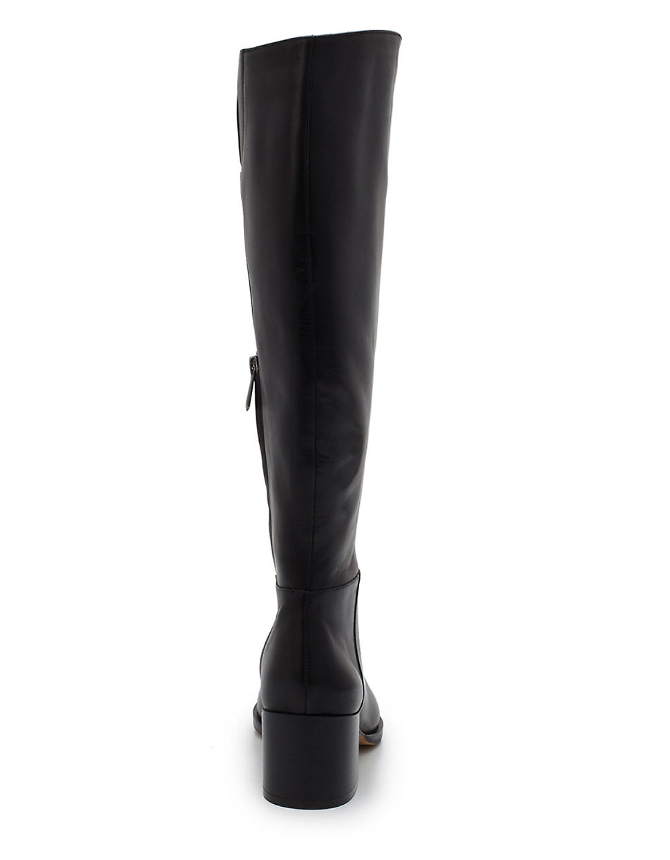 e08ca6e7d3efc Sam Edelman Joelle Leather Riding Boots in Black - Lyst