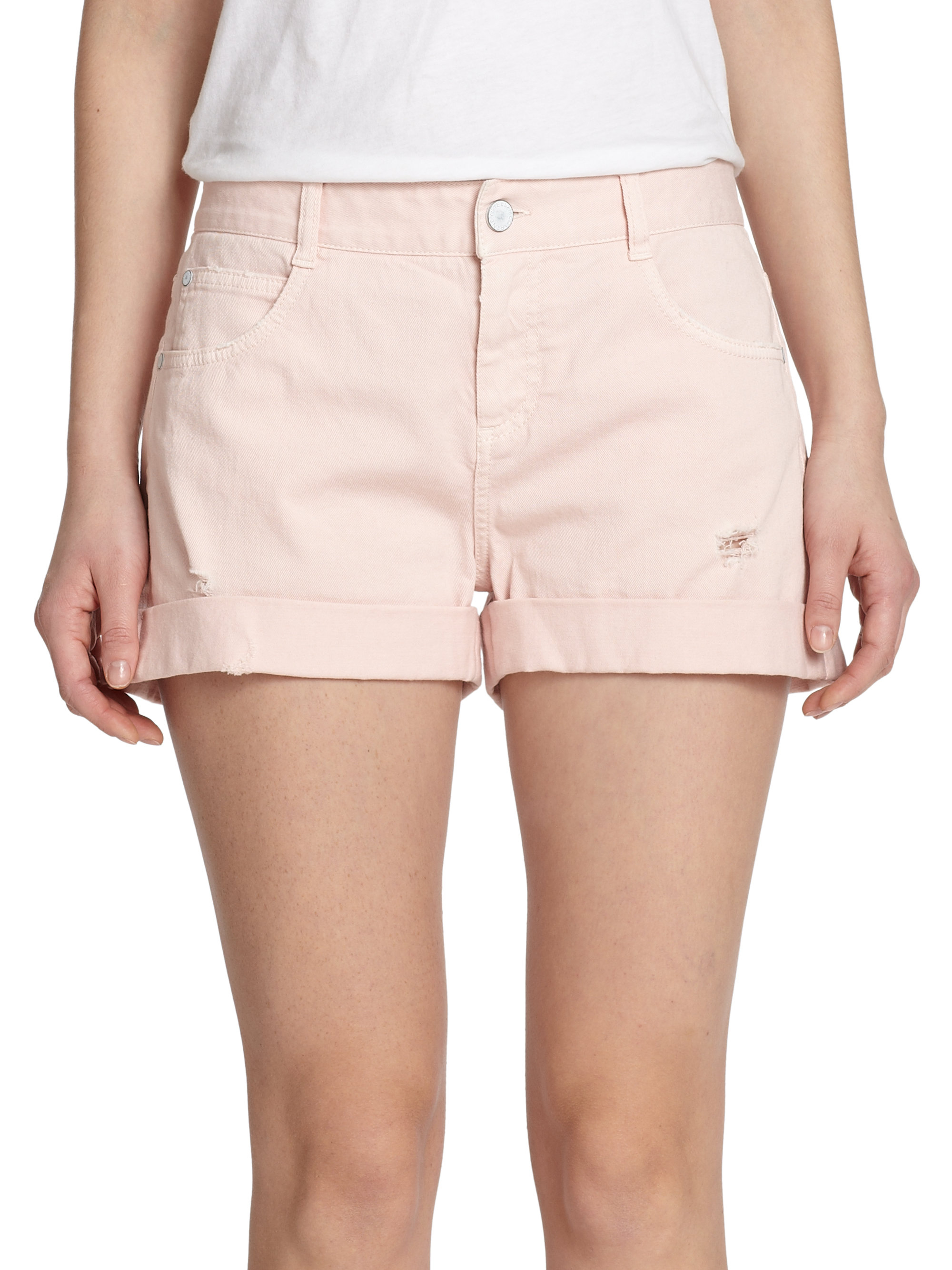 Find pink denim shorts at ShopStyle. Shop the latest collection of pink denim shorts from the most popular stores - all in one place.
