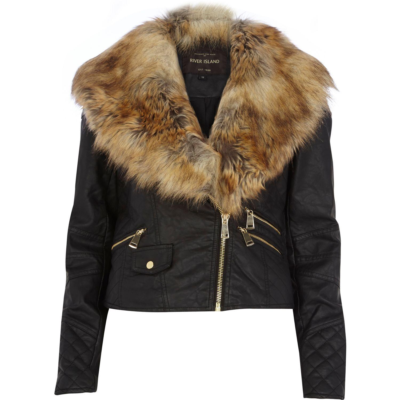 River Island Jacket Fur