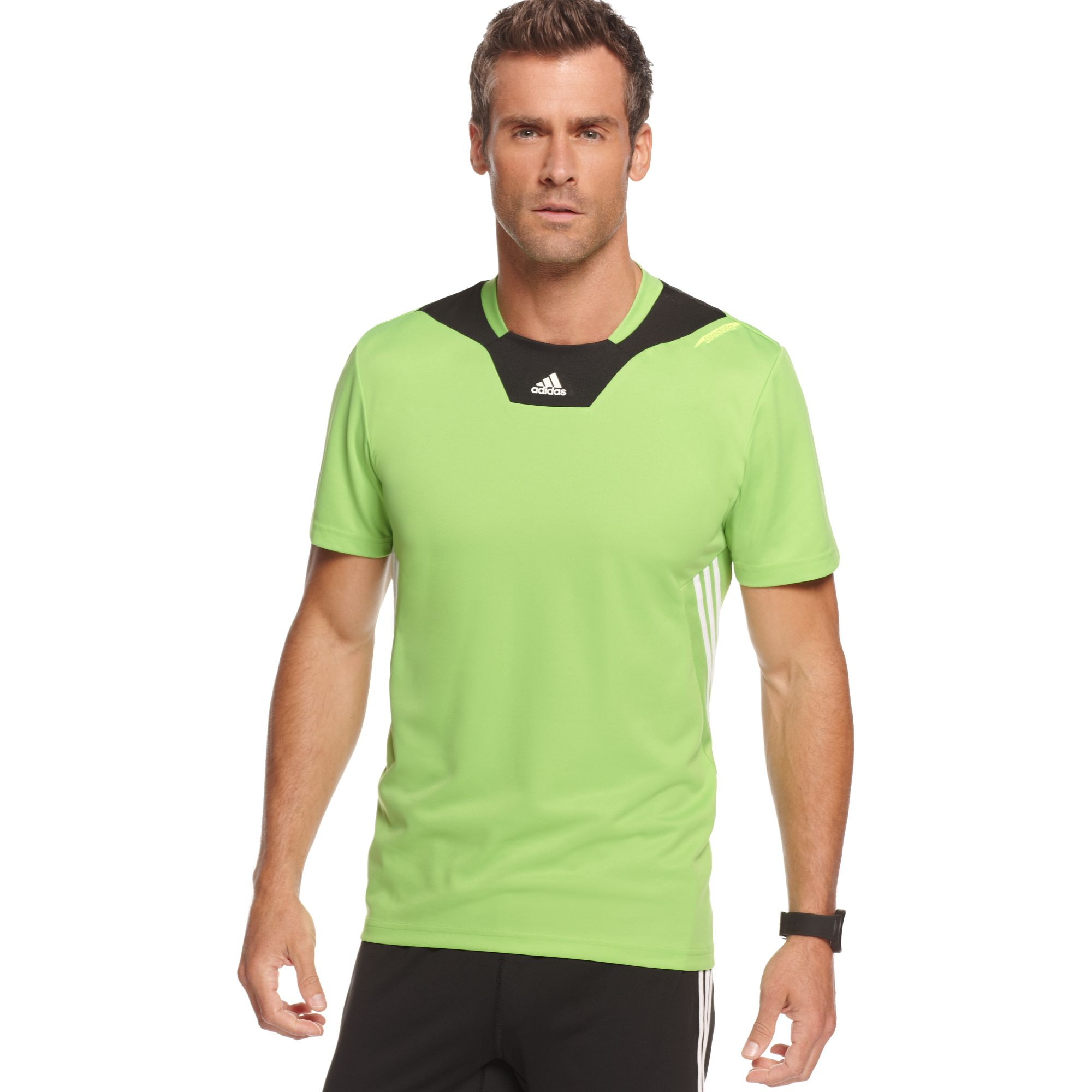 Lyst - adidas Predator Climacool Training Jersey in Green for Men 7859220e6