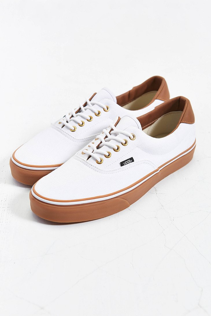 66600459b00 Lyst - Vans California Era 59 Gumsole Sneaker in White for Men