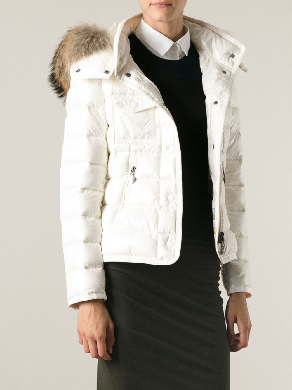 Lyst Moncler Armoise Jacket In White