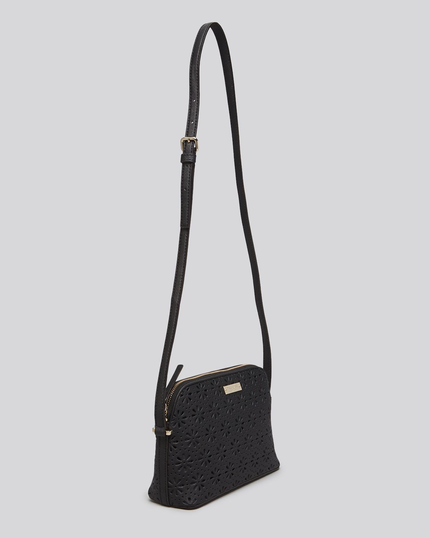 8dd889f4e77d Lyst - Kate Spade Crossbody Bag Cedar Street Perforated Mandy in Black