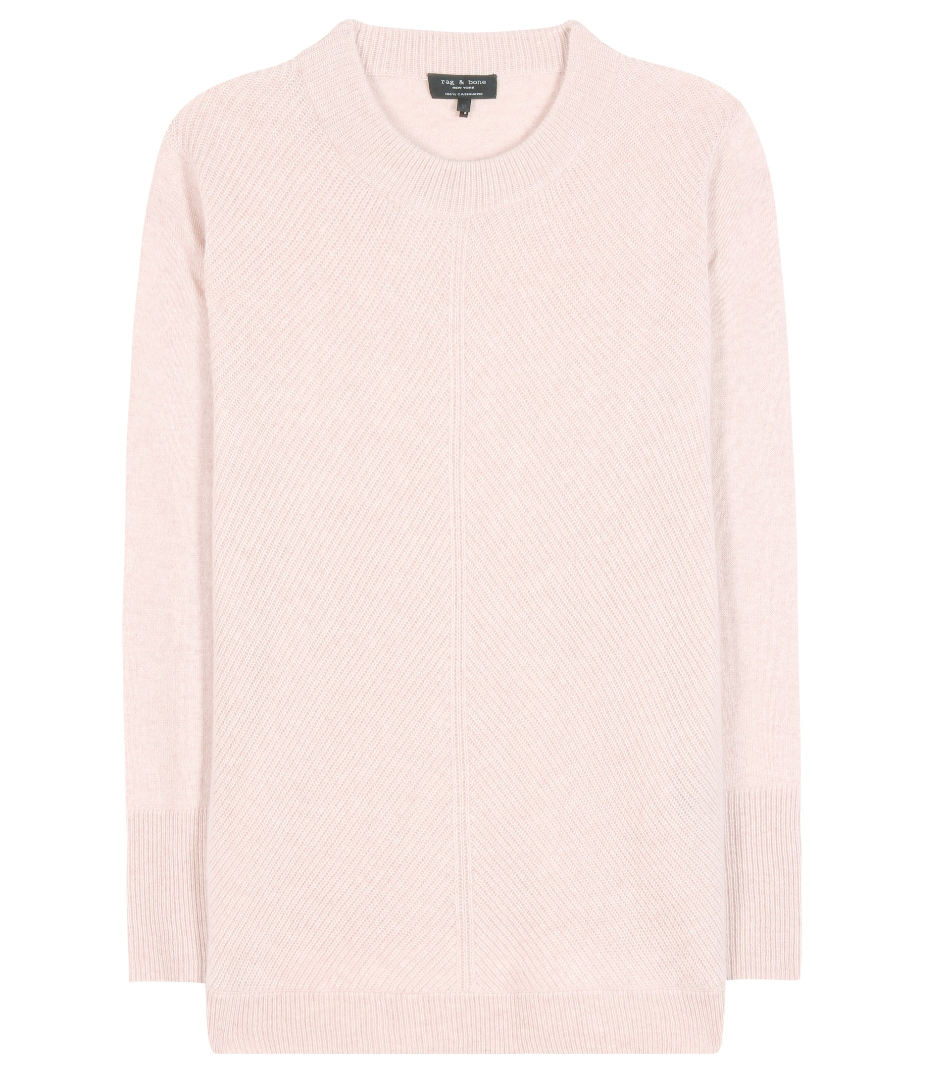 Rag & bone Alexis Cashmere Sweater in Pink | Lyst