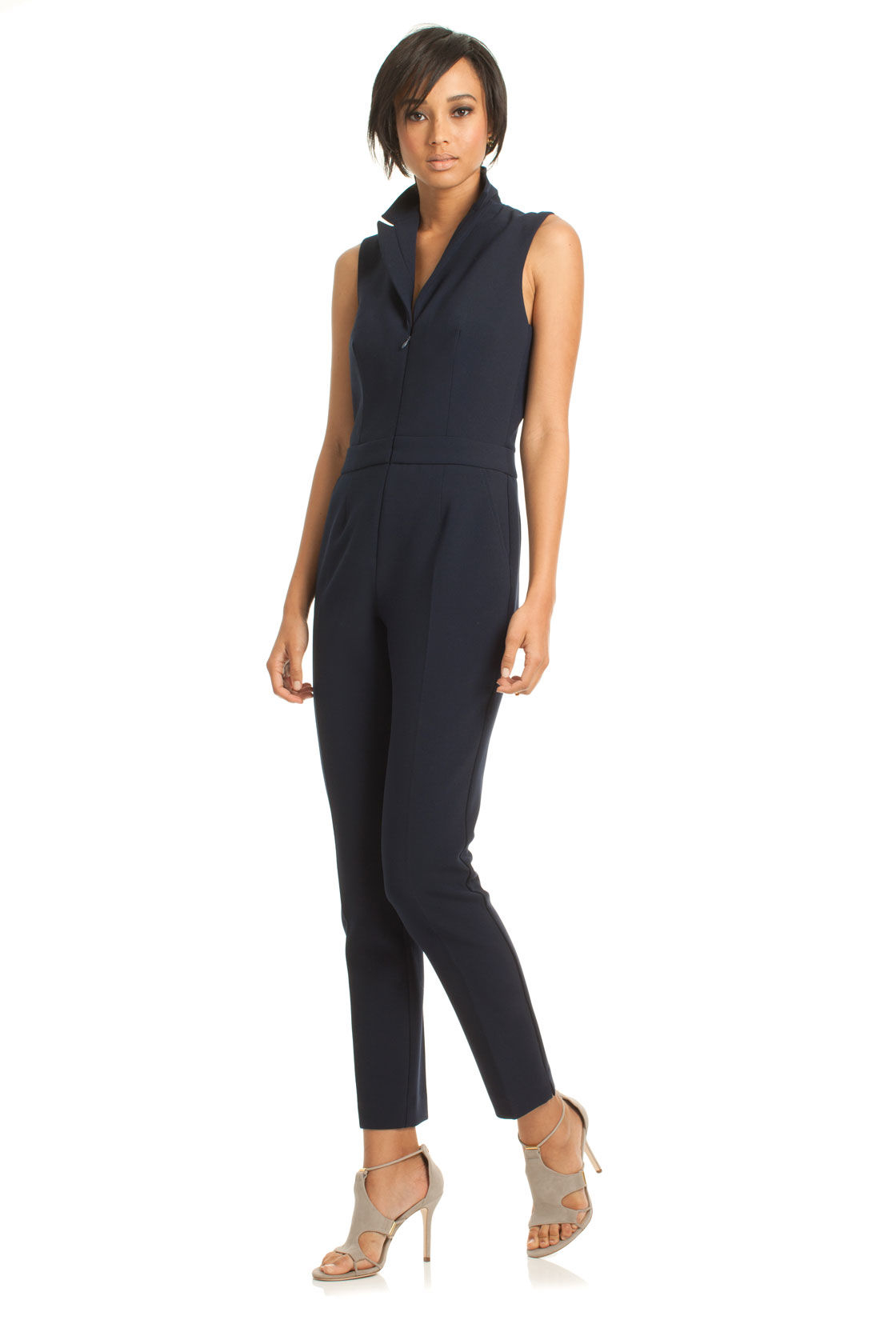 Lyst Trina Turk Emmalyn Jumpsuit In Blue