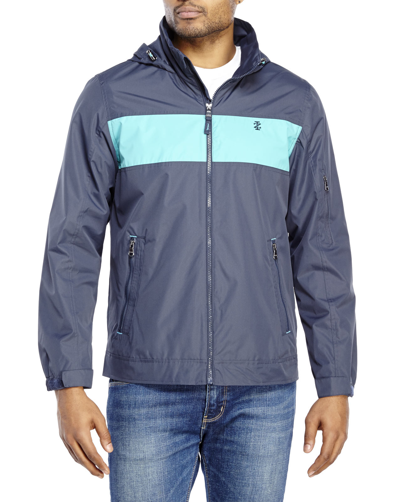 Images of Mens Windbreaker Jacket With Hood - The Fashions Of Paradise
