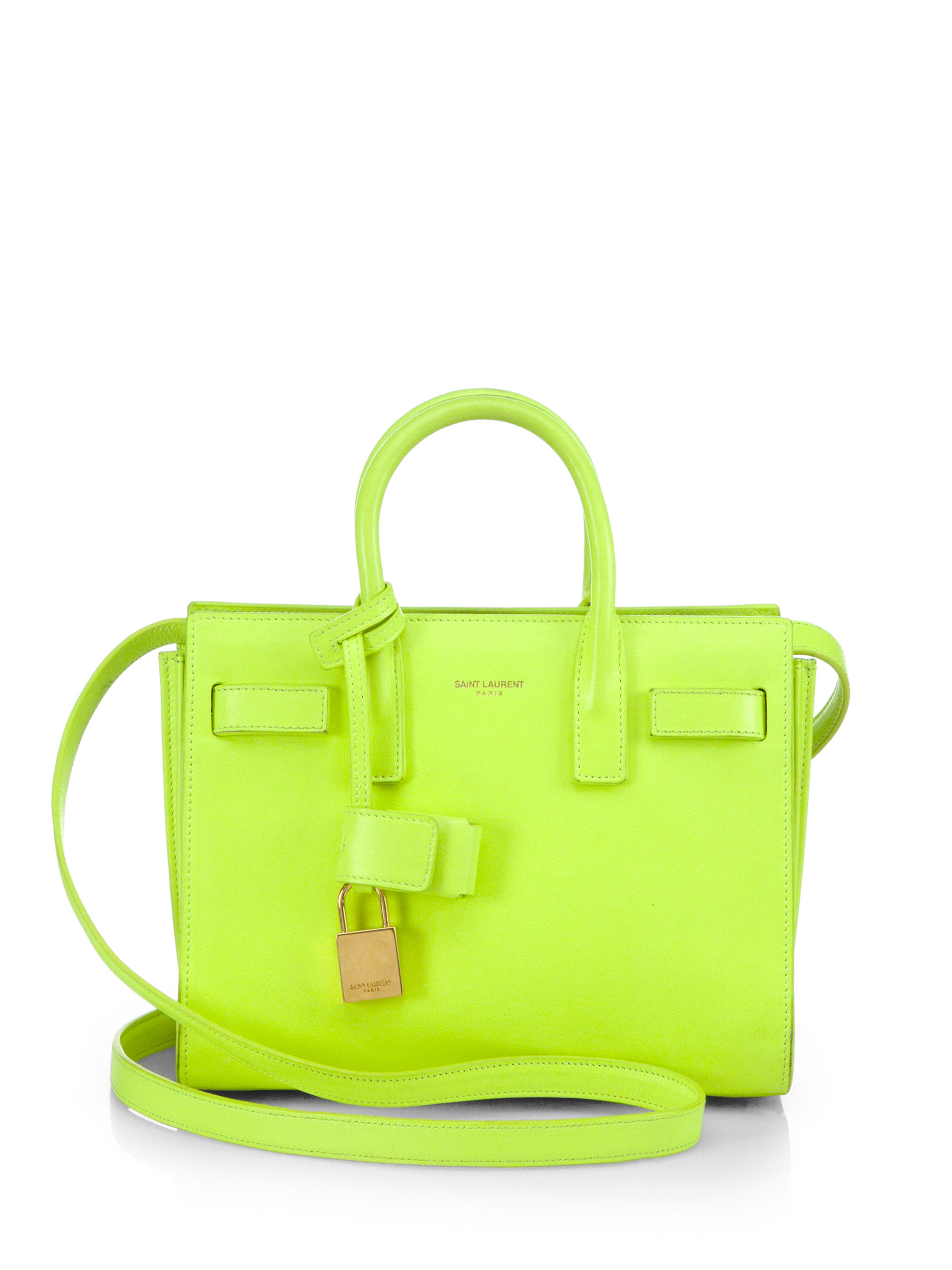 replica yves saint laurent cabas chyc small yellow