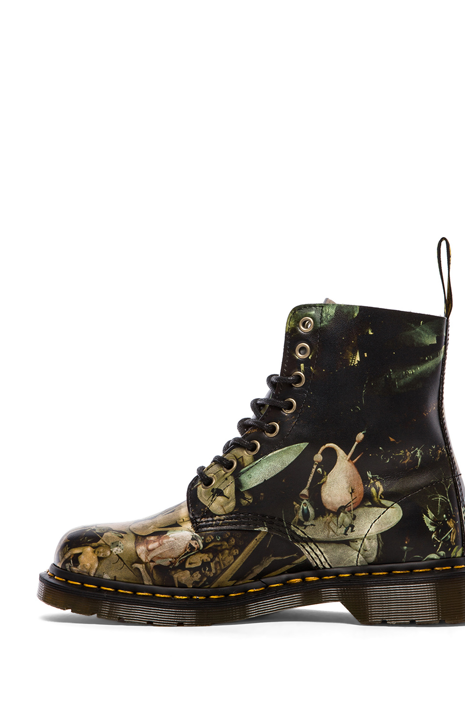 dr martens pascal 8eye boot in multicolor for men hell. Black Bedroom Furniture Sets. Home Design Ideas