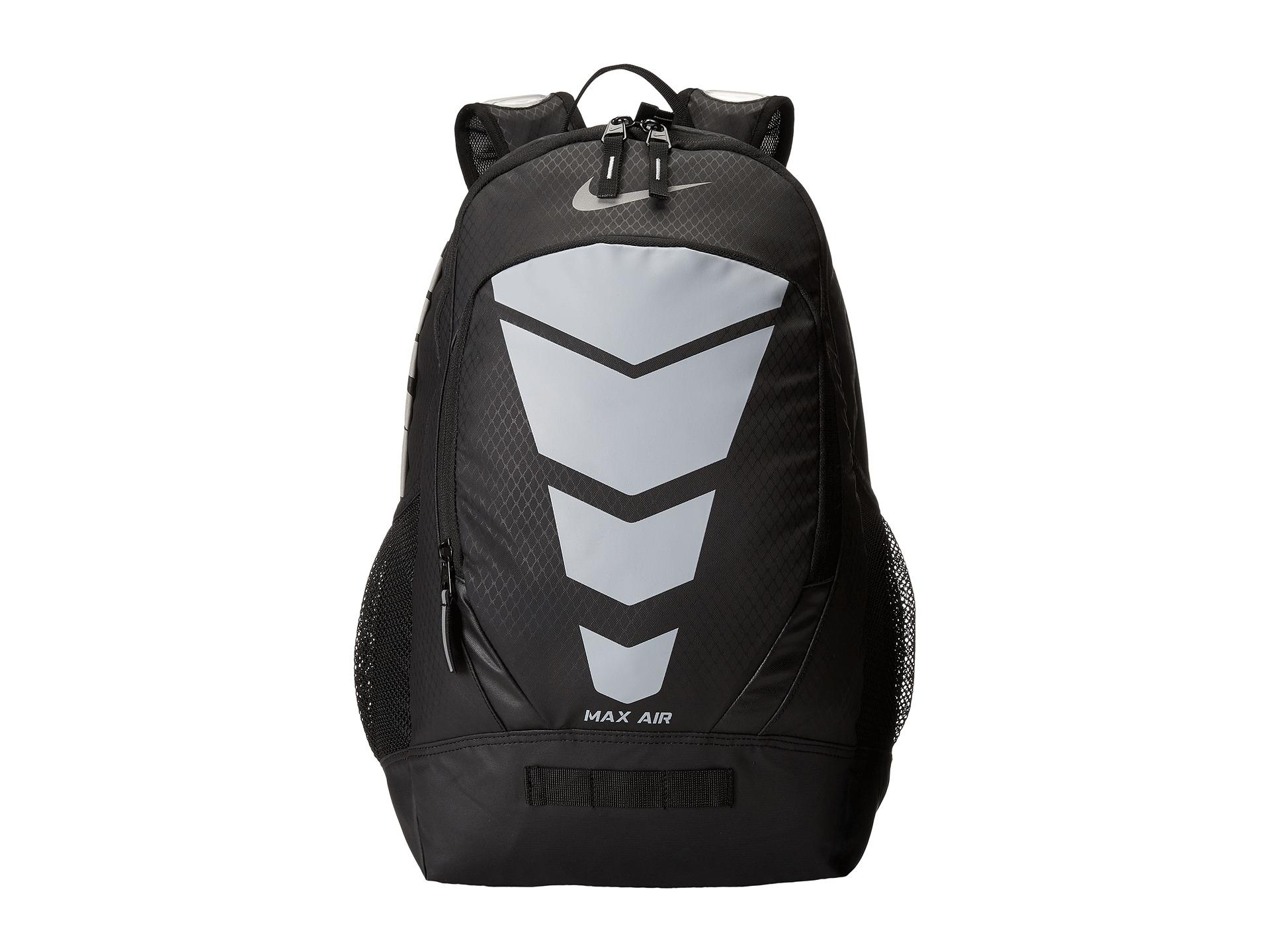 new arrival 4c261 1b487 ... Energy Training Backpack Black Metallic Silver  Lyst - Nike Max Air  Vapor Backpack in Black ...