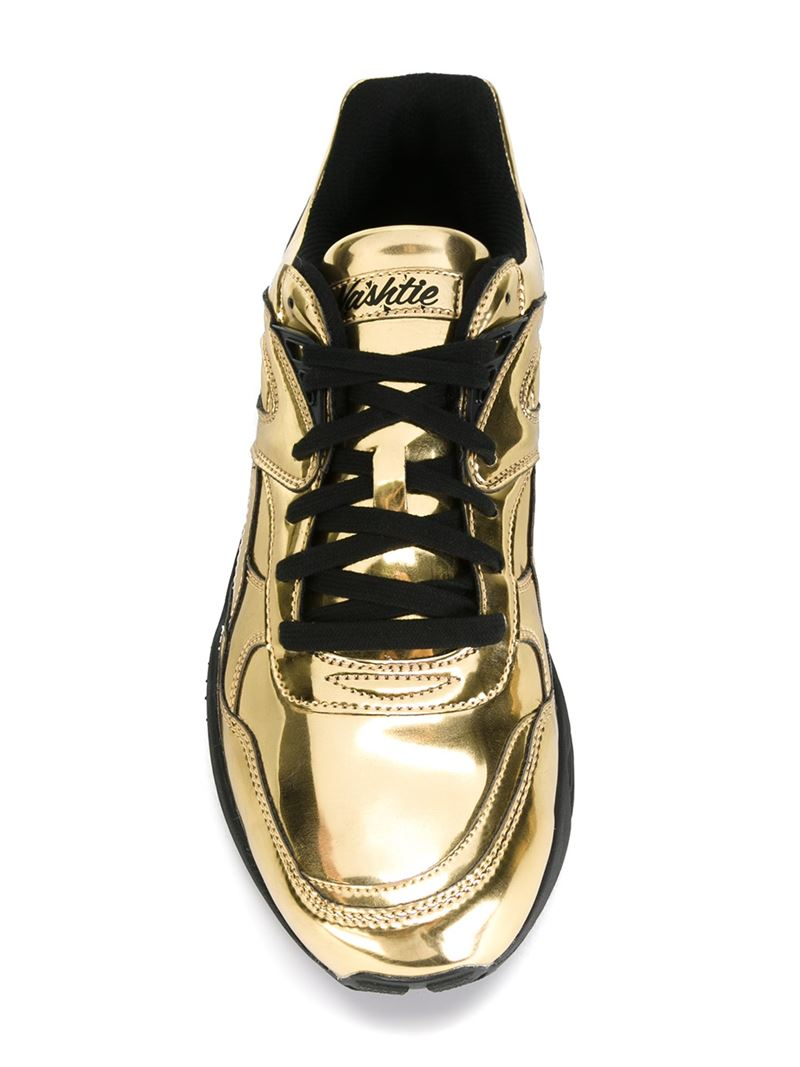 Lyst Puma X Vashtie Metallic Sneakers In Metallic For Men