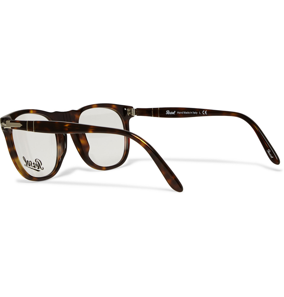 7690012f2631a Persol D-Frame Acetate Optical Glasses in Brown for Men - Lyst