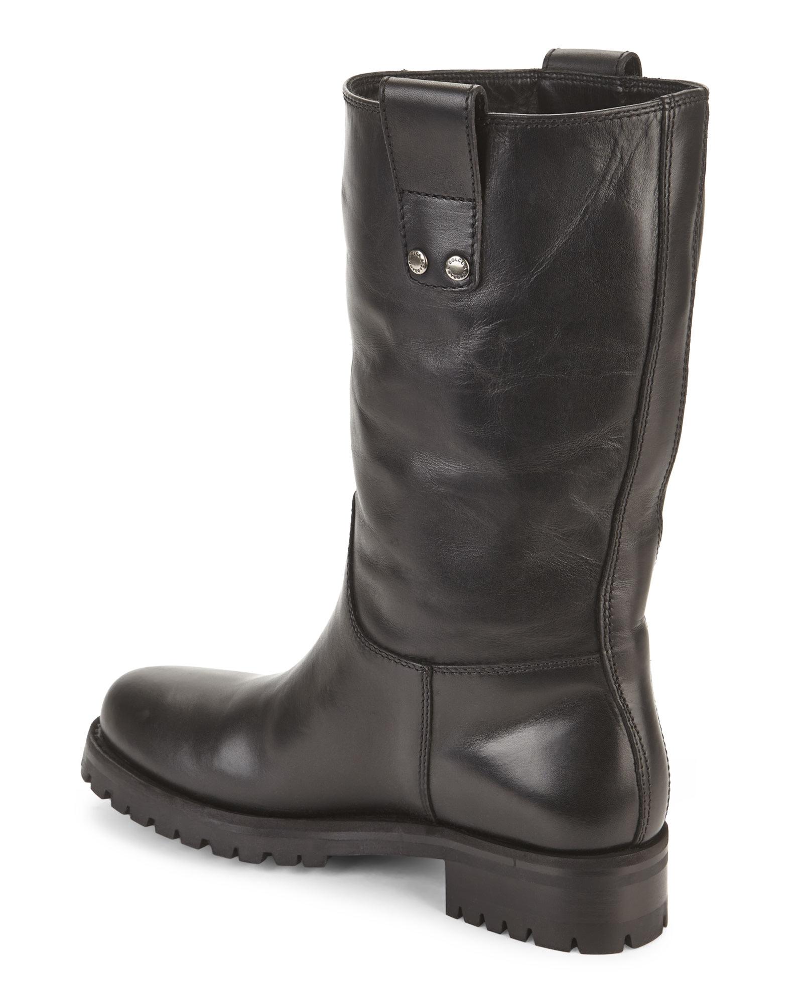 Dolce & Gabbana Biker Boots aTJgxsTkeY