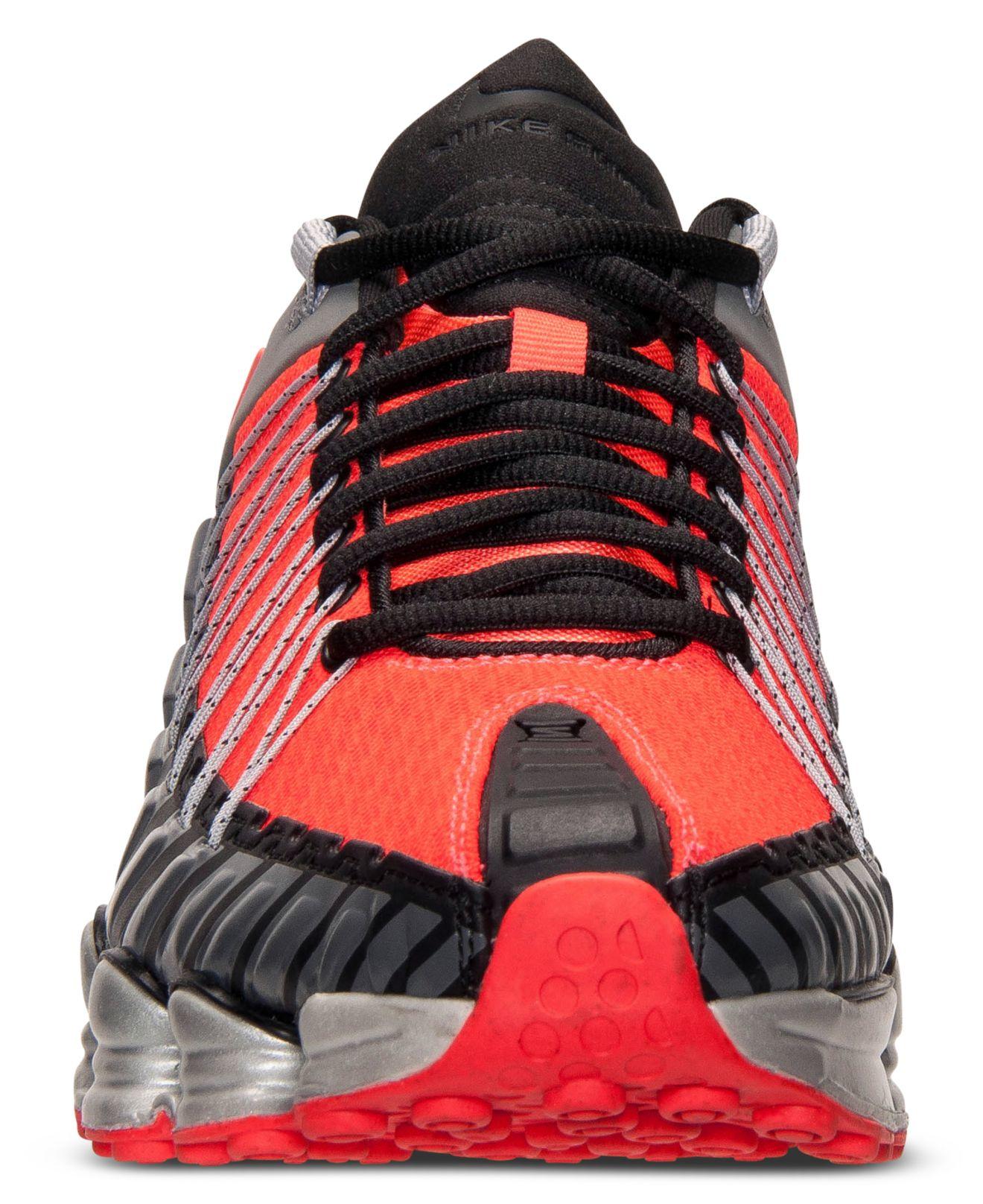 87b9667b9d7c66 Lyst - Nike Men s Total Shox Running Sneakers From Finish Line in Gray for  Men