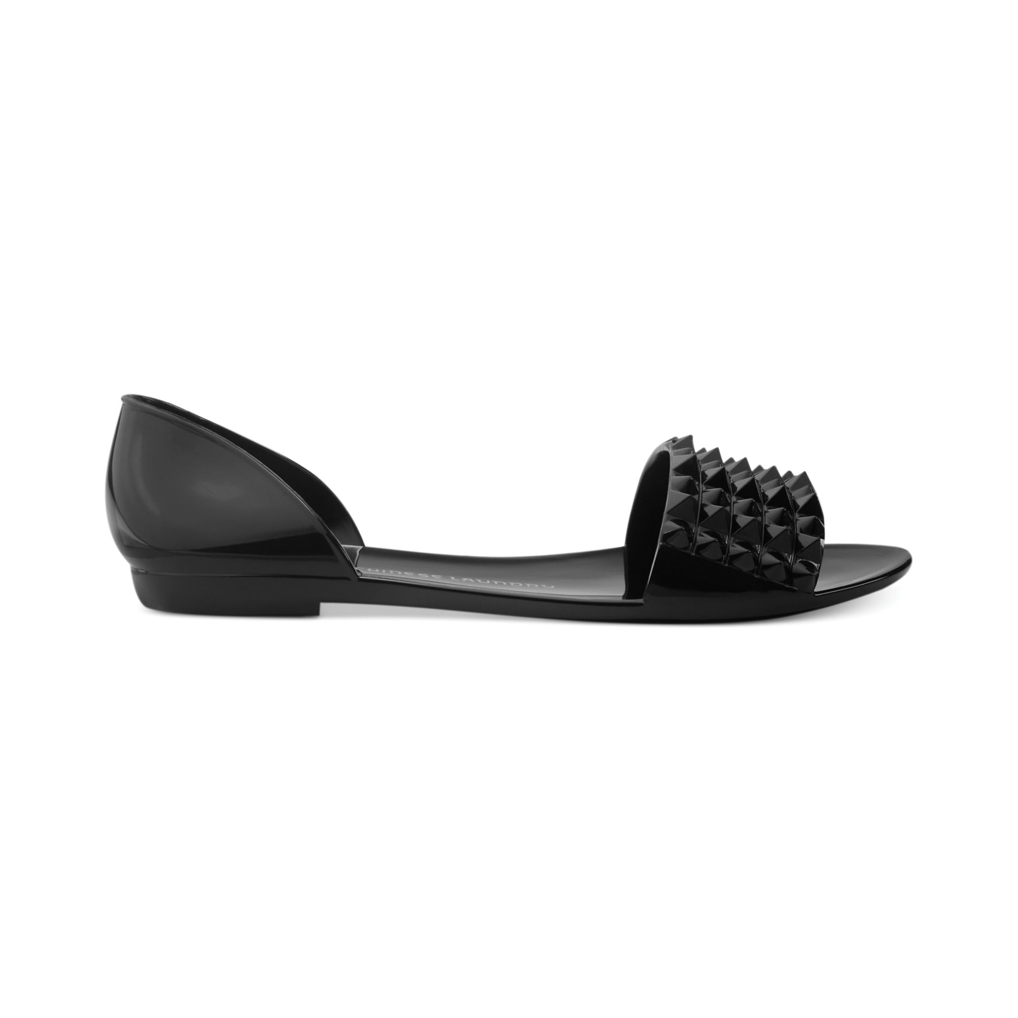 82bf0239f101 Lyst - Chinese Laundry Rocking Jelly Sandals in Black