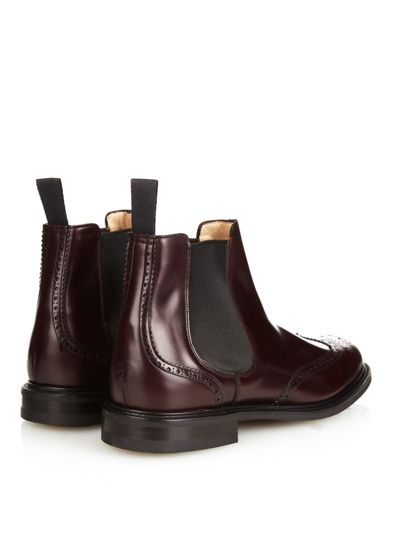 church s cransley 2 leather chelsea boots in brown for