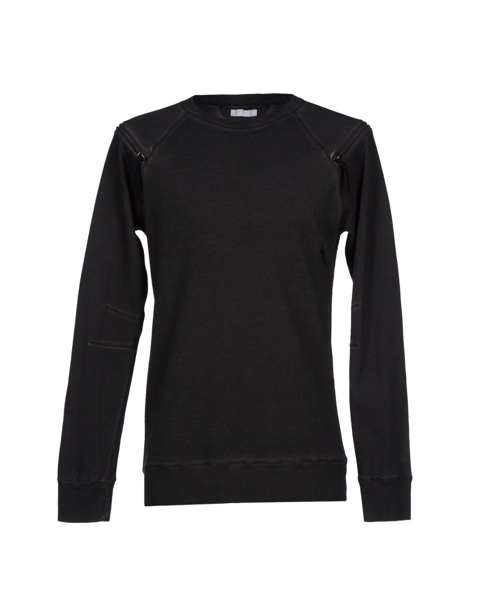 Lyst helmut lang sweatshirt in gray for men for Sweatshirt kleid lang