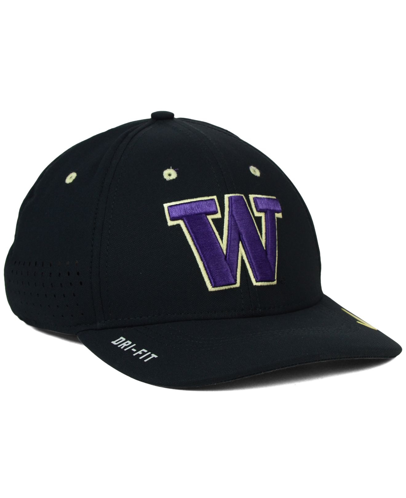 timeless design 07853 9f106 ... italy lyst nike washington huskies sideline cap in black for men 7cd93  96959