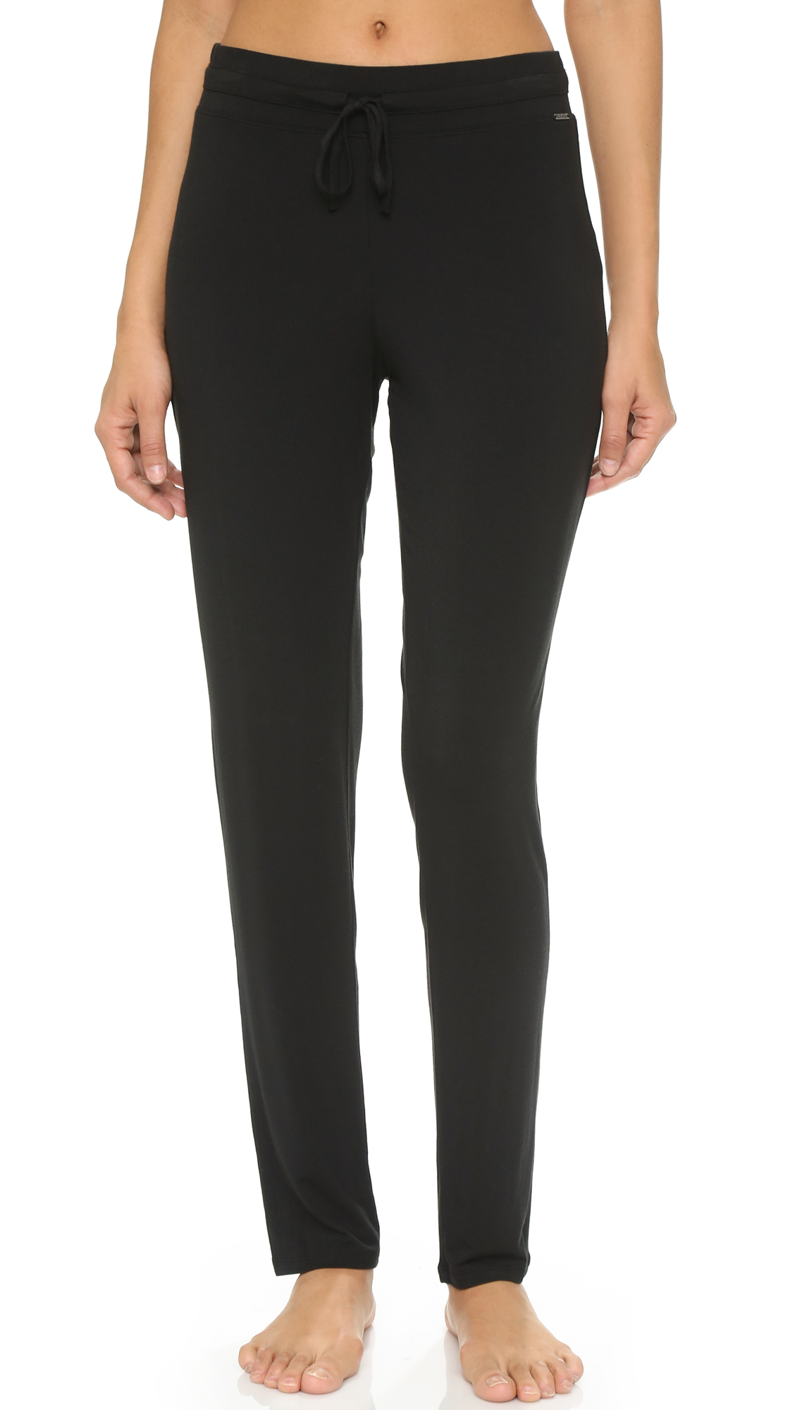 Perfect Calvin Klein Vivid Pajama Pants In Black  Lyst