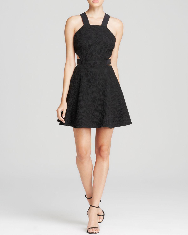 lyst elizabeth and james dress kayne in black. Black Bedroom Furniture Sets. Home Design Ideas