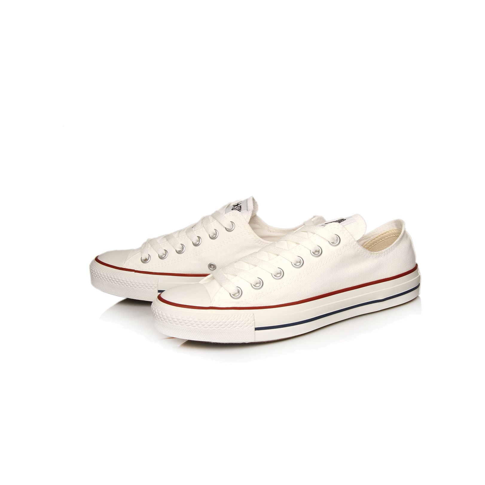 converse chuck taylor low top trainers in white lyst