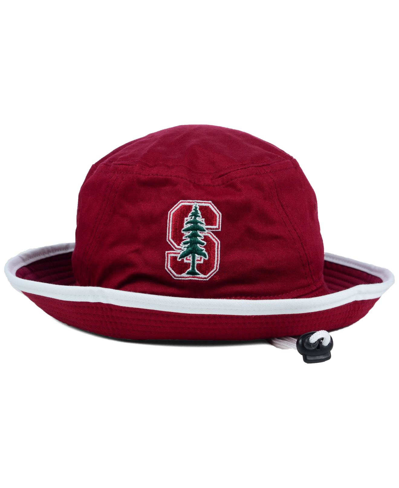 best website 15446 ef201 ... cheap lyst ktz stanford cardinal tip bucket hat in red for men 465a6  8426b