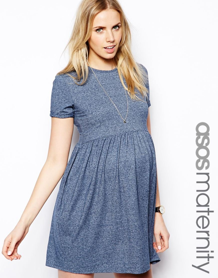 Asos skater dress in marl in orange lyst gallery womens skater dresses ombrellifo Image collections