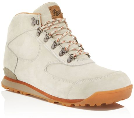 Danner Jag Boots In Beige Oyster Gray Lyst