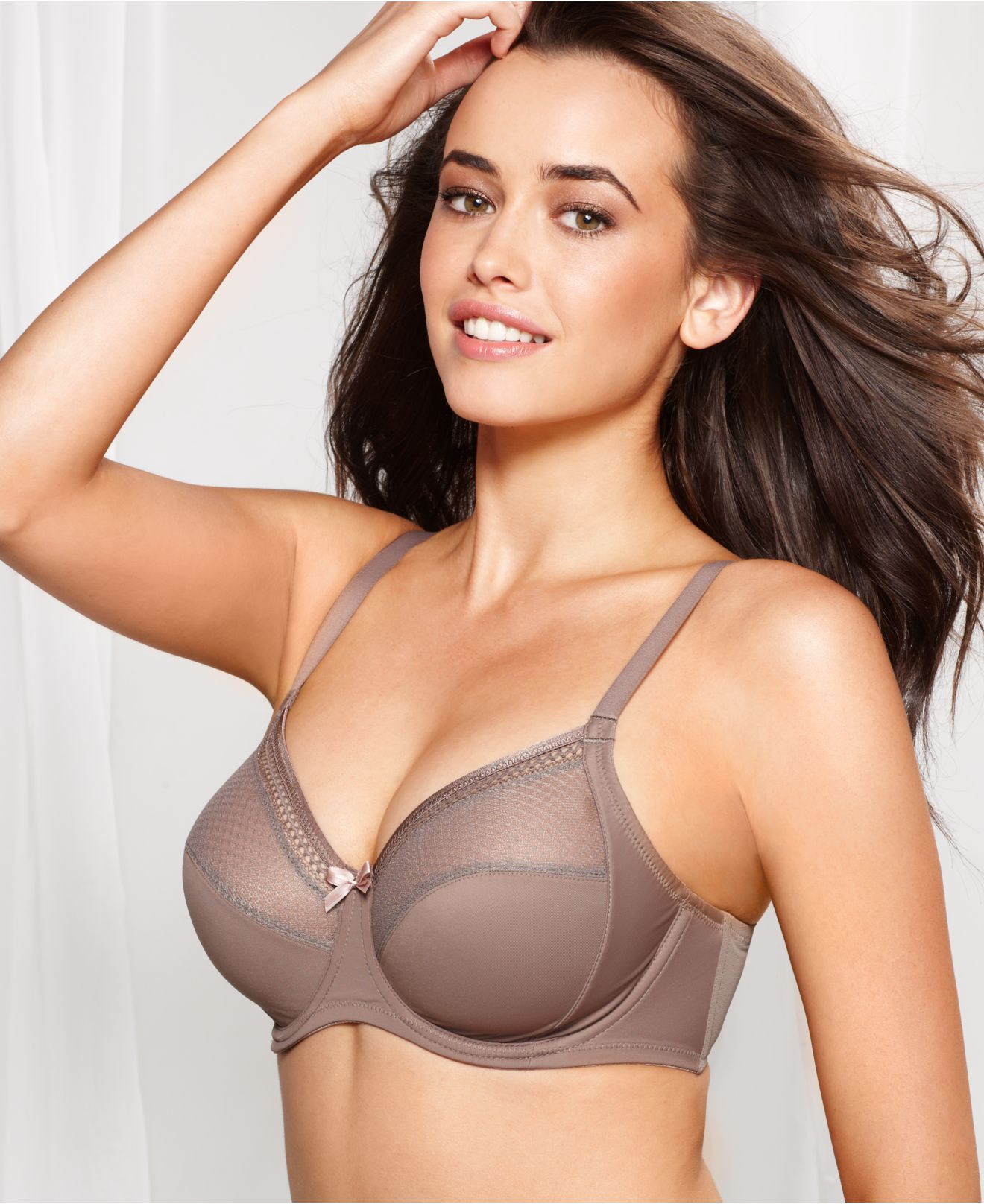 Wacoal Fine Form Full Figure Underwire Bra 855239 in Brown | Lyst