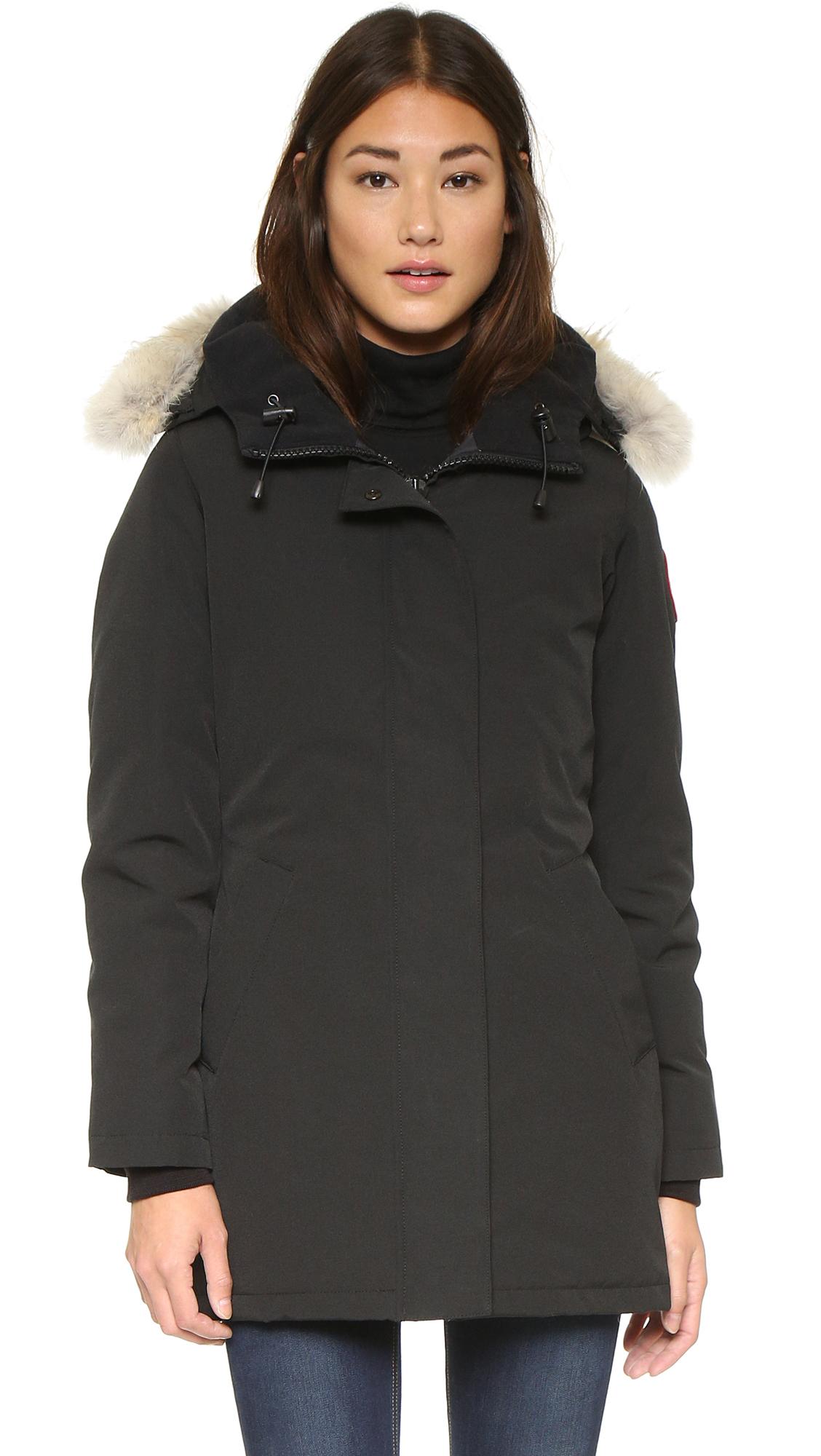 victoria parka canada goose jacket