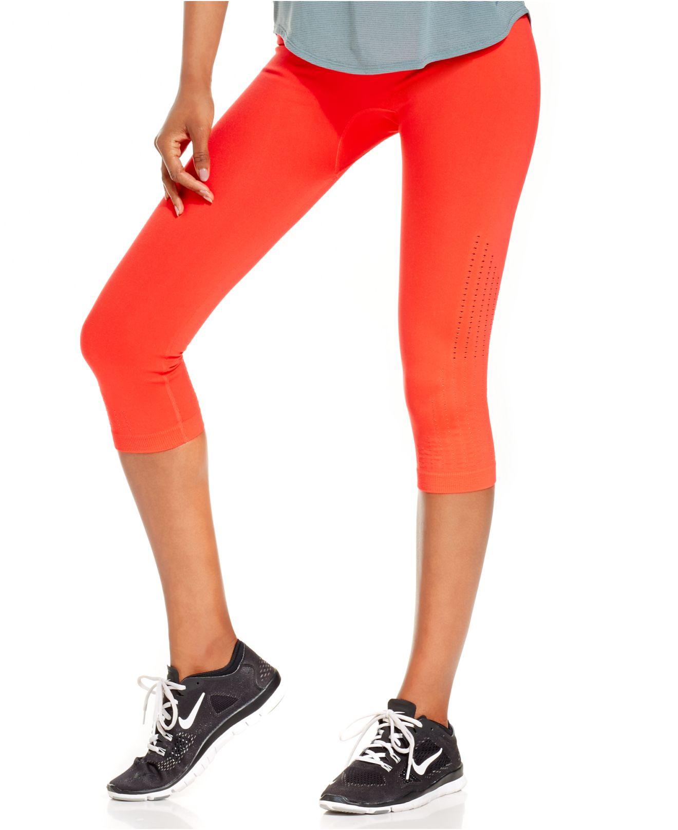Leggings In Lyst Pro Nike Limitless Capri Dri Orange Fit q0Yx1wq