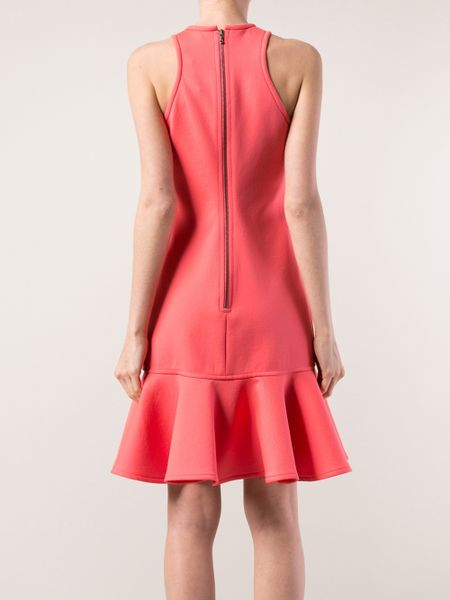 Lanvin Ruffle Bottom Dress