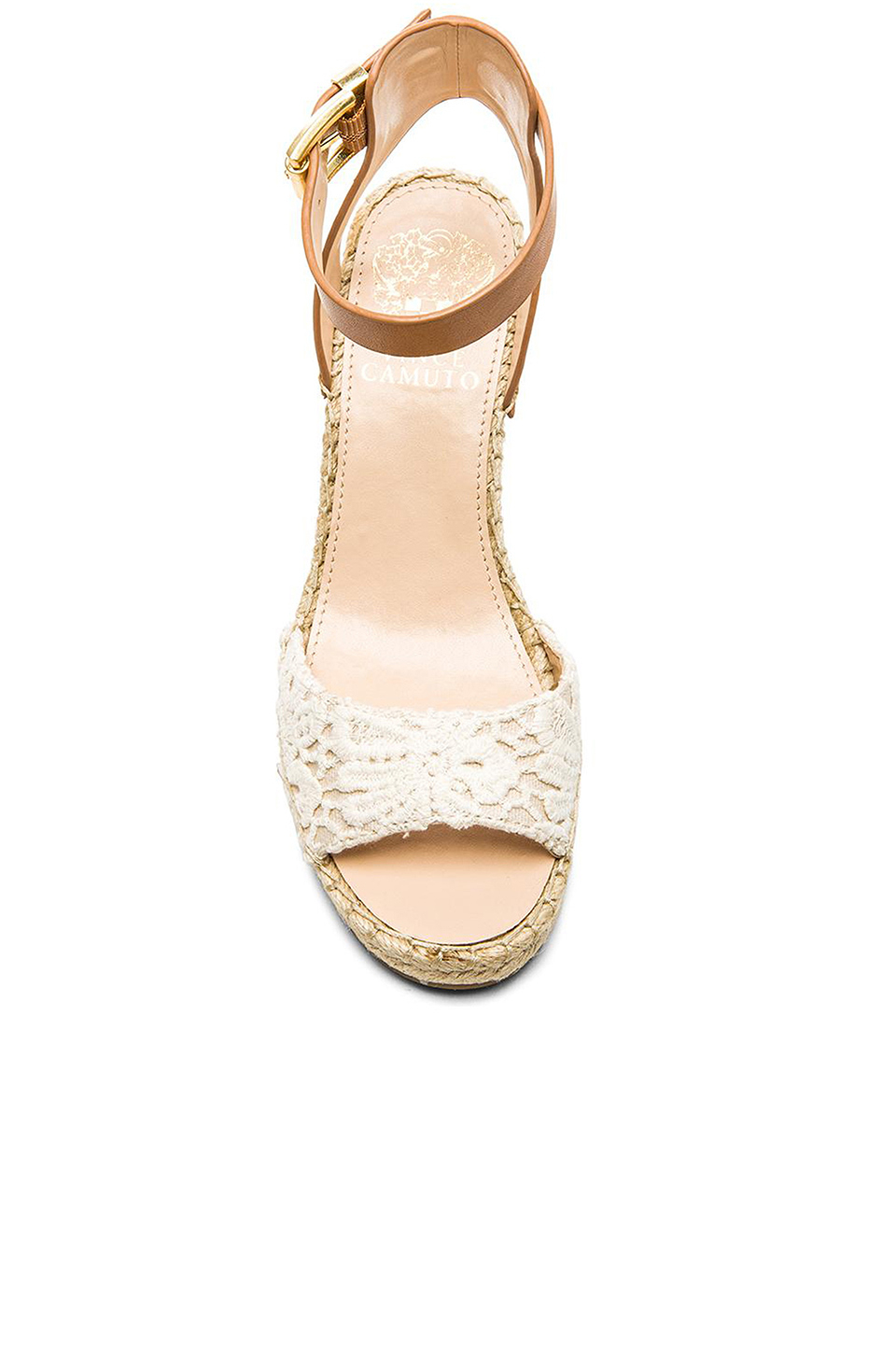 7ca0a6124f1 Lyst - Vince Camuto Tagger Wedge in Natural