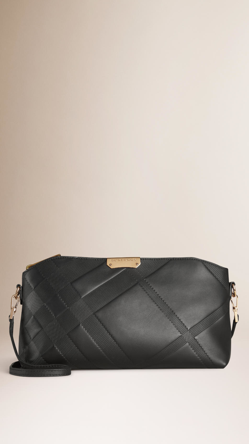 For Nice Online Buy Cheap Choice Burberry Leather Clutch Bag Recommend Cheap zWhslG5d