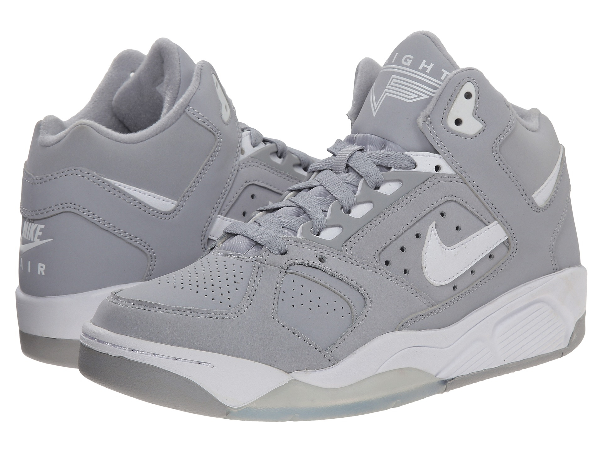 outlet store 21aee b62c0 Lyst - Nike Air Flight Lite Low in Gray for Men
