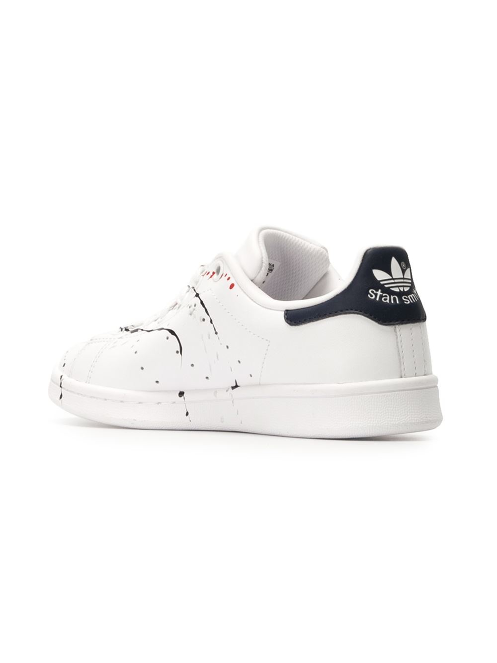 lyst adidas originals 39 stan smith 39 sneakers in white. Black Bedroom Furniture Sets. Home Design Ideas