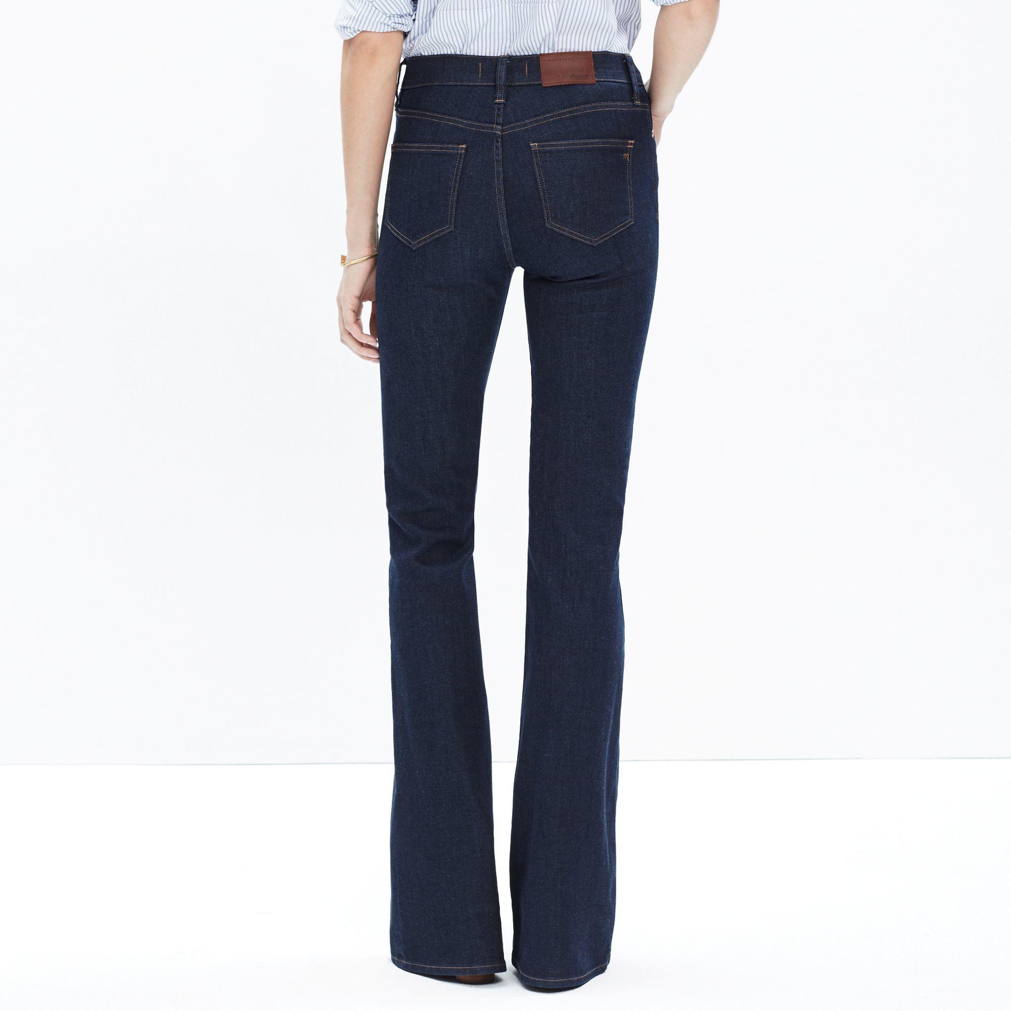 Madewell Flea Market Flare Jeans In Kenner Wash in Blue | Lyst