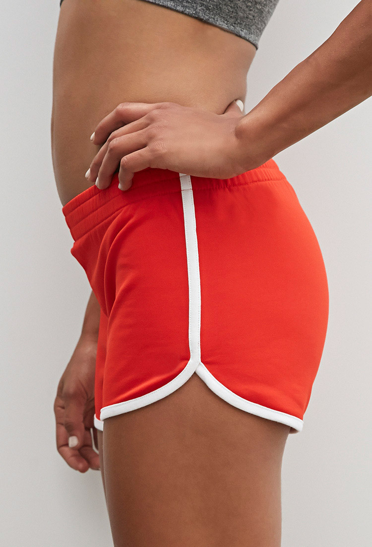 Forever 21 Active Contrast-trimmed Dolphin Shorts You've Been ...