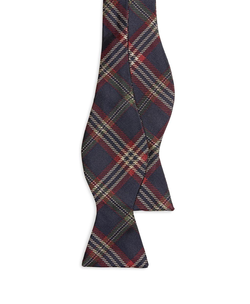 Lyst - Brooks Brothers Signature Tartan Bow Tie in Blue ...