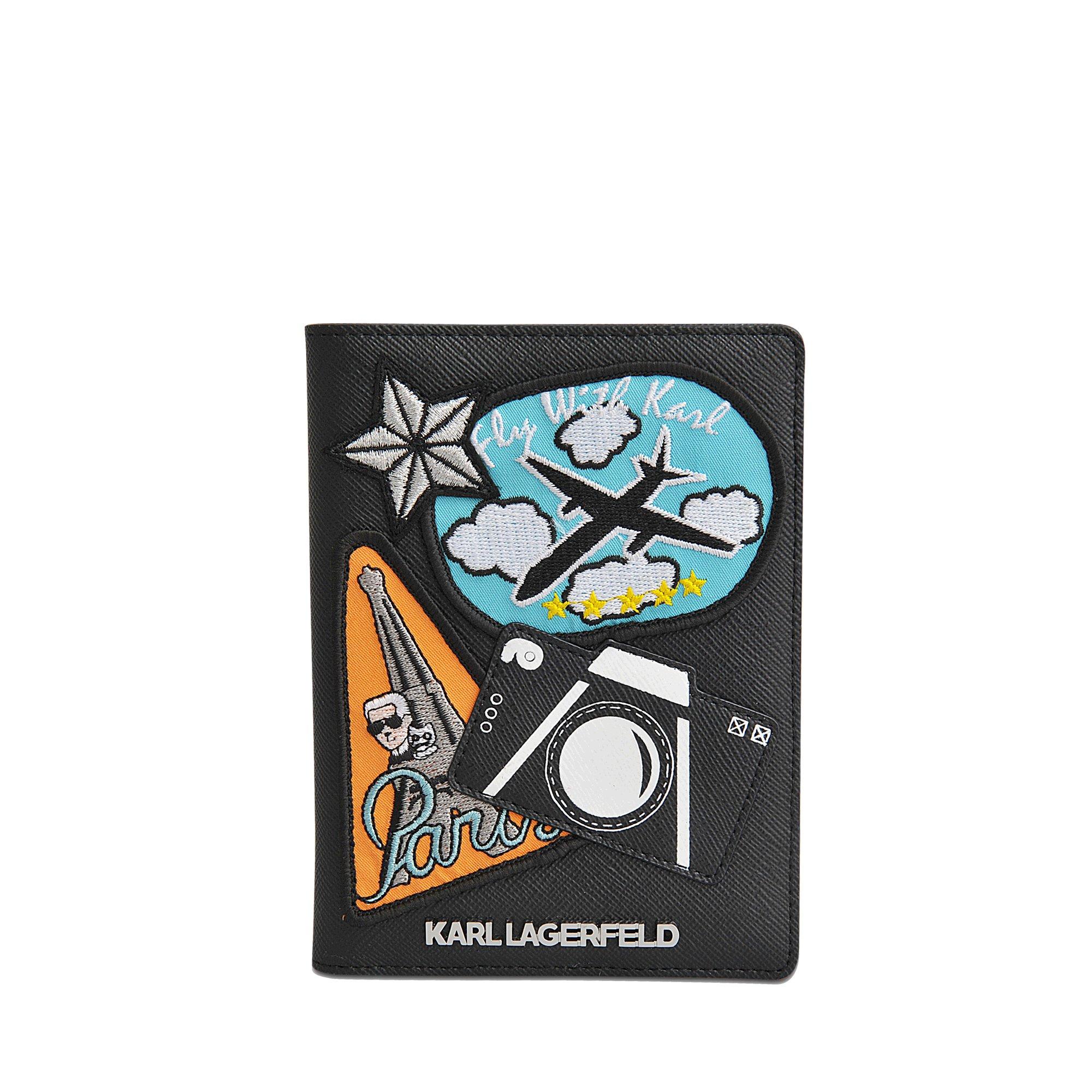 Karl Lagerfeld Captain Karl passport holder lKmQRsXMEo