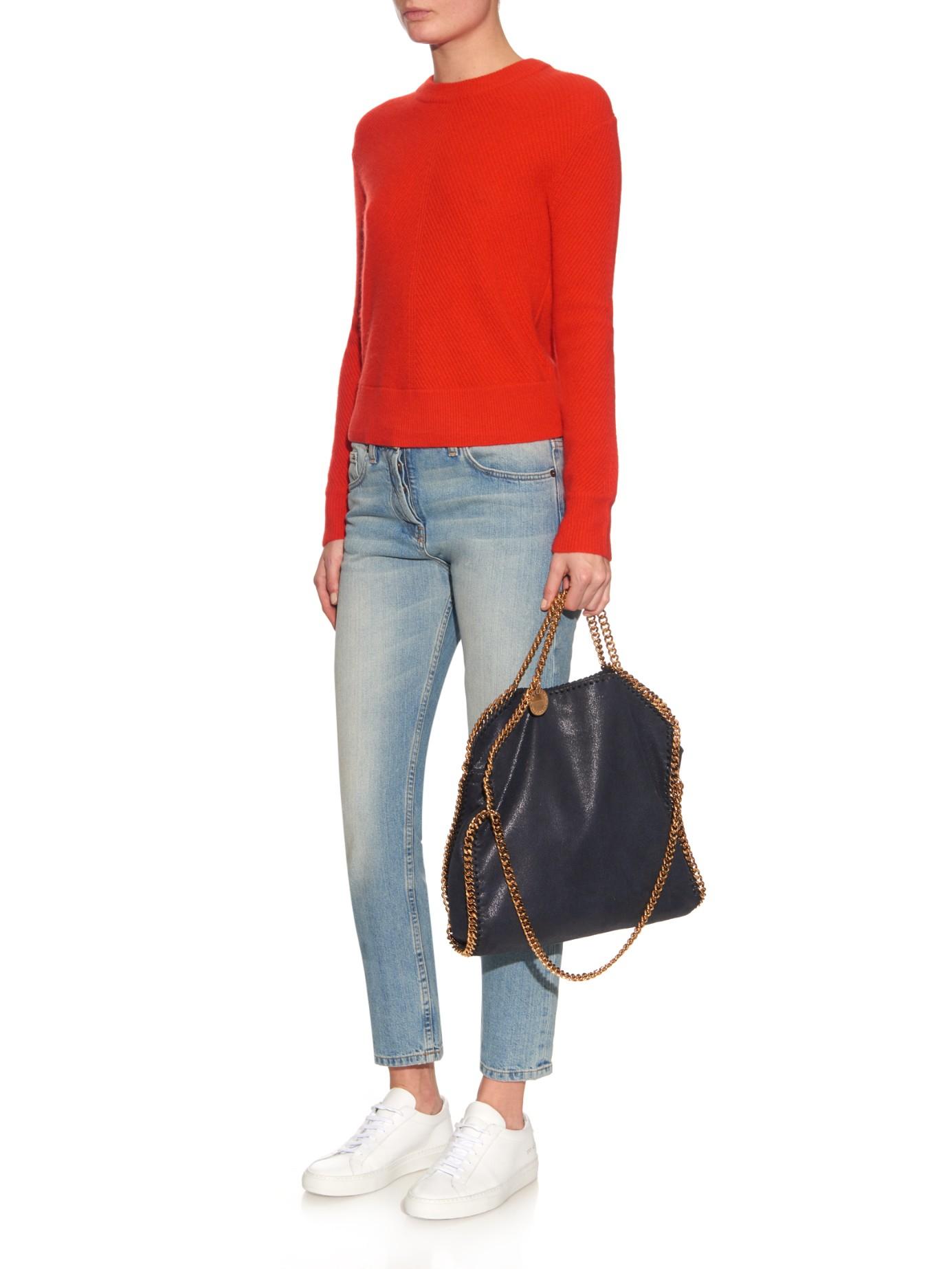 Falabella faux-suede shoulder bag Stella McCartney WiiZj