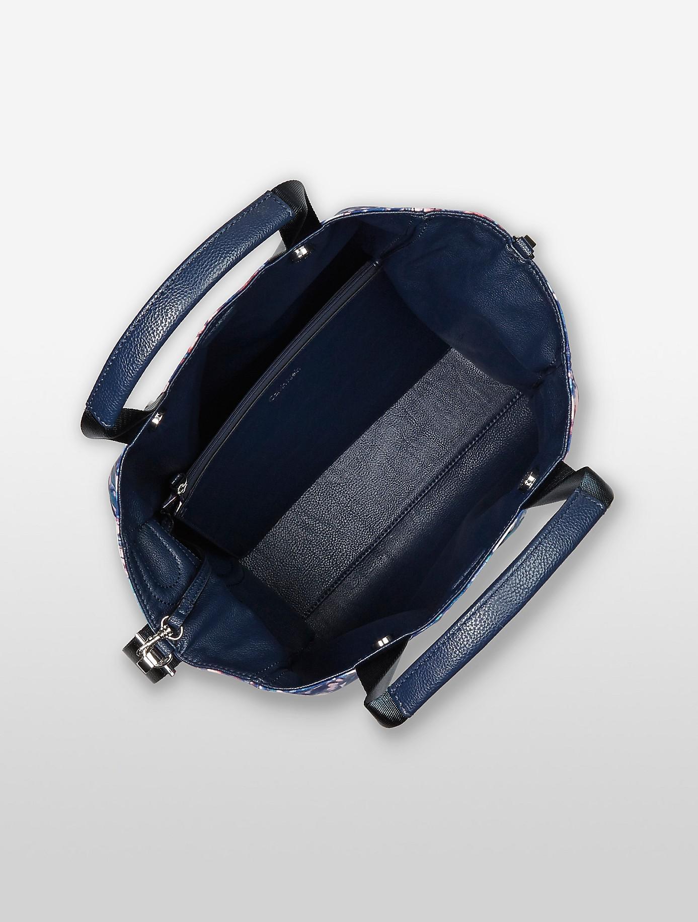 Calvin Klein - Blue Athletic Nylon Tote - Lyst. View fullscreen 6c20885d9ec26