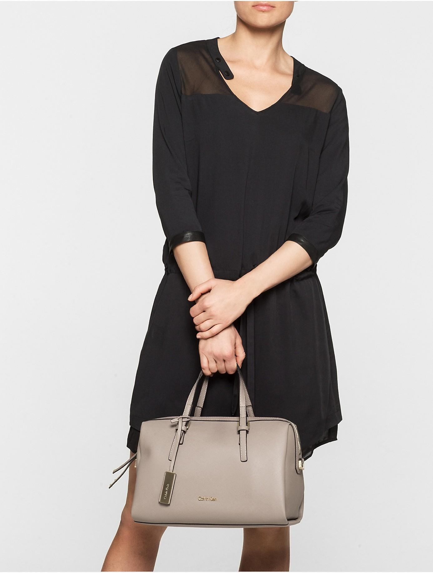 Lyst Calvin Klein Jeans Marissa Duffle Bag In Gray