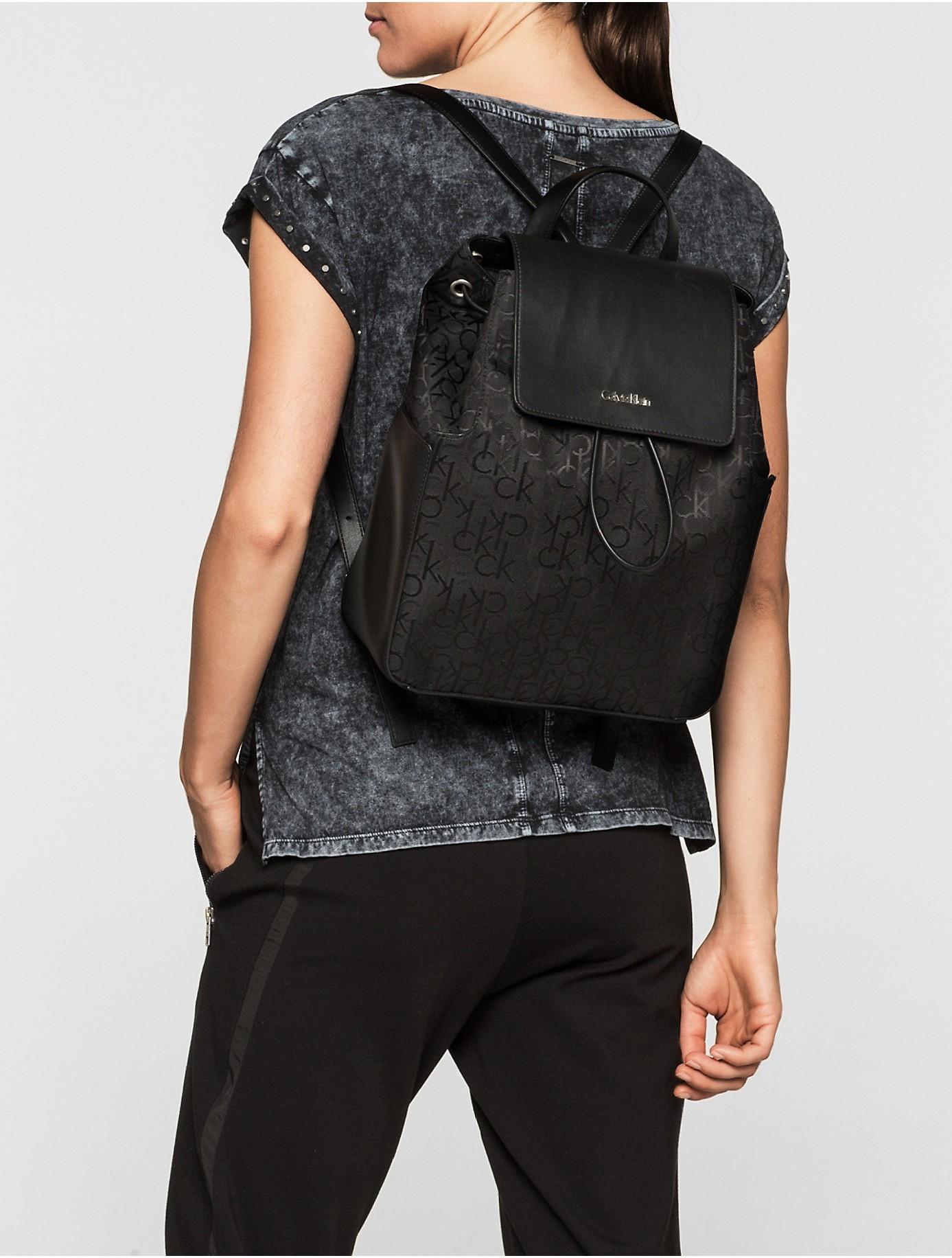 Tempat Jual Lc020 Longchamp Le Pliage Neo Fantaisie Medium Terbaru Backpack M Merah Lyst Calvin Klein Jeans Nina Logo In Black